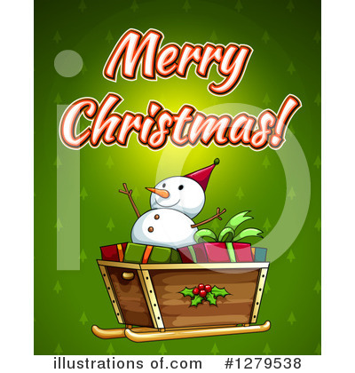 Snowman Clipart #1279538 by Graphics RF