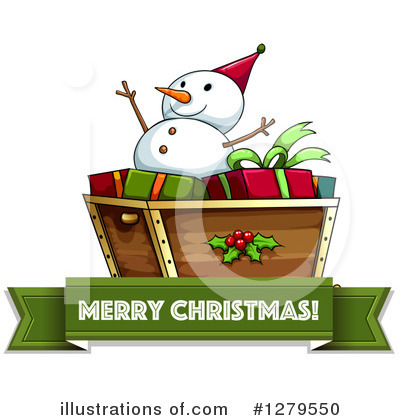 Snowman Clipart #1279550 by Graphics RF