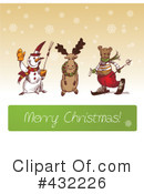 Merry Christmas Clipart #432226 by Eugene
