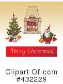 Royalty-Free (RF) Merry Christmas Clipart Illustration #432229