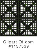 Royalty-Free (RF) Metal Grate Clipart Illustration #1137539
