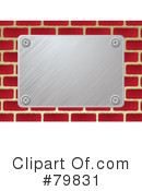 Metal Plate Clipart #79831