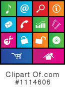 Metro Icons Clipart #1114606 by cidepix