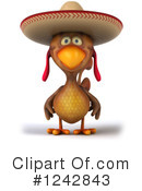 Mexican Chicken Clipart #1242843