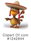 Mexican Chicken Clipart #1242844