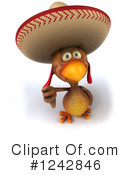 Mexican Chicken Clipart #1242846