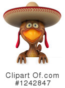 Mexican Chicken Clipart #1242847