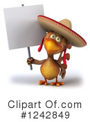 Mexican Chicken Clipart #1242849