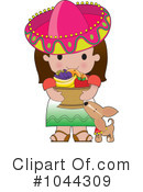Royalty-Free (RF) Mexican Clipart Illustration #1044309