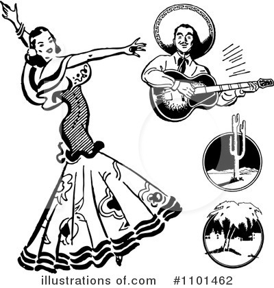 Dancing Clipart #1101462 by BestVector