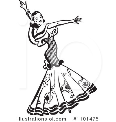 Dancing Clipart #1101475 by BestVector