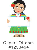 Mexican Clipart #1233494 by Maria Bell