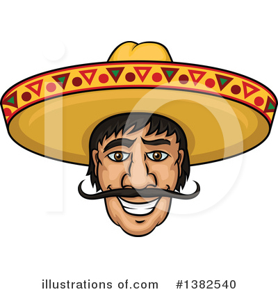 Mexican Clipart #1382540 by Vector Tradition SM