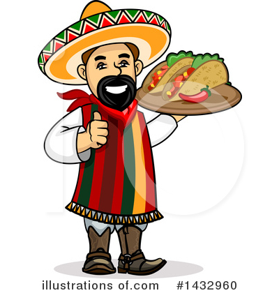 Royalty-Free (RF) Mexican Clipart Illustration by Vector Tradition SM - Stock Sample #1432960