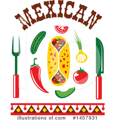 Mexican Clipart #1457931 by Vector Tradition SM