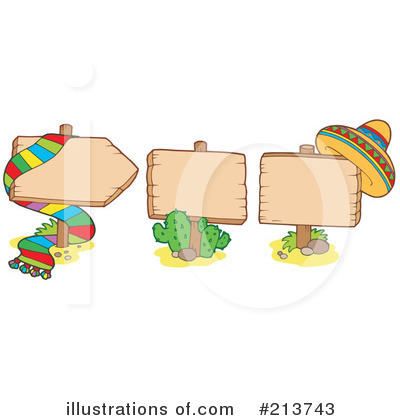 Royalty-Free (RF) Mexican Clipart Illustration by visekart - Stock Sample #213743