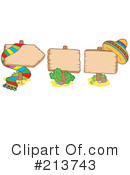 Royalty-Free (RF) Mexican Clipart Illustration #213743