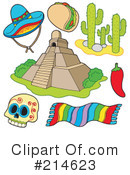 Royalty-Free (RF) Mexico Clipart Illustration #214623
