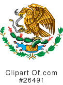 Royalty-Free (RF) Mexico Clipart Illustration #26491