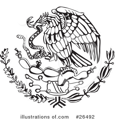 Mexico Clipart 26489 Illustration By David Rey