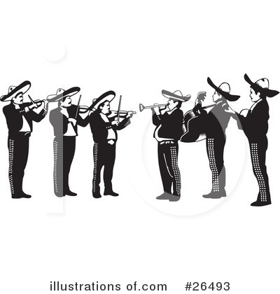 Gallery For > Mariachi Band Clipart