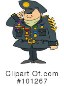 Royalty-Free (RF) Military Clipart Illustration #101267