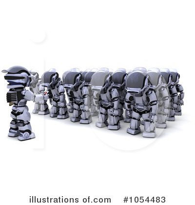 Royalty-Free (RF) Military Clipart Illustration by KJ Pargeter - Stock Sample #1054483