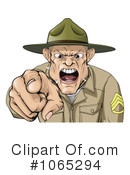 Royalty-Free (RF) Military Clipart Illustration #1065294