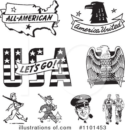 American Clipart #1101453 by BestVector