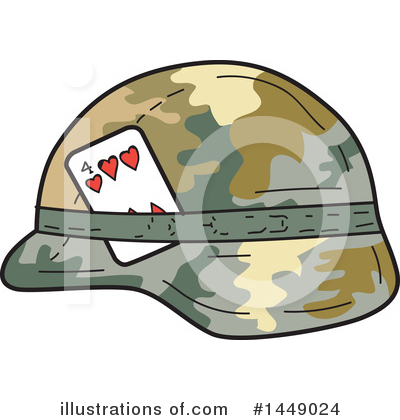 Royalty-Free (RF) Military Clipart Illustration by patrimonio - Stock Sample #1449024