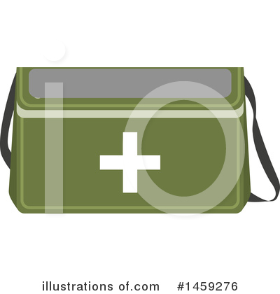 First Aid Kit Clipart #1459276 by Vector Tradition SM