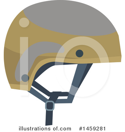 Helmet Clipart #1459281 by Vector Tradition SM