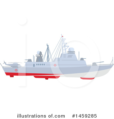Ship Clipart #1459285 by Vector Tradition SM