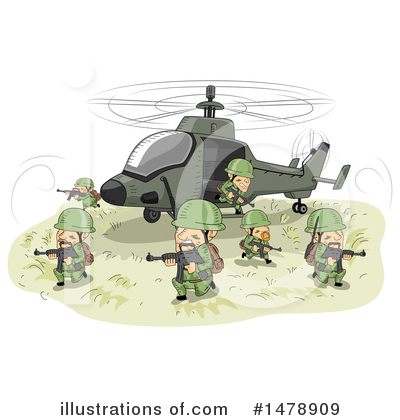 Military Clipart #1478909 by BNP Design Studio