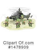 Royalty-Free (RF) Military Clipart Illustration #1478909
