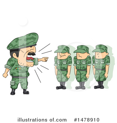 Military Clipart #1478910 by BNP Design Studio
