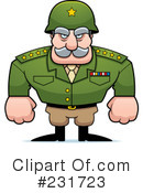 Royalty-Free (RF) Military Clipart Illustration #231723