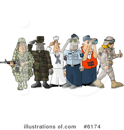 Military Clipart #6174 by djart