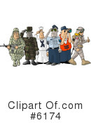 Royalty-Free (RF) Military Clipart Illustration #6174