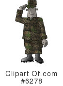 Royalty-Free (RF) Military Clipart Illustration #6278