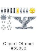 Royalty-Free (RF) Military Clipart Illustration #63033