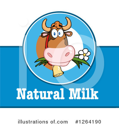 Cow Clipart #1264190 by Hit Toon