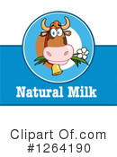 Royalty-Free (RF) Milk Clipart Illustration #1264190
