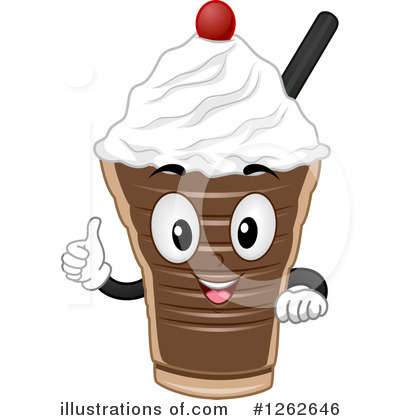 Milkshake Clipart #1262646 by BNP Design Studio