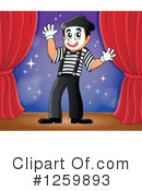 Royalty-Free (RF) Mime Clipart Illustration #1259893
