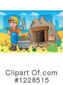 Mining Clipart #1228515 by visekart