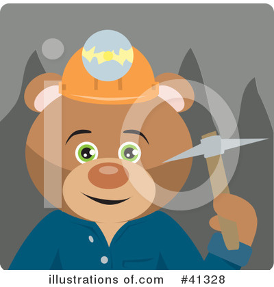 Bear Clipart #41328 by Dennis Holmes Designs