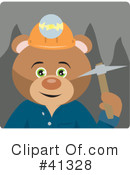 Royalty-Free (RF) Mining Clipart Illustration #41328