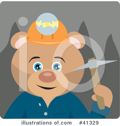 Bear Clipart #41329 by Dennis Holmes Designs
