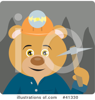 Bear Clipart #41330 by Dennis Holmes Designs